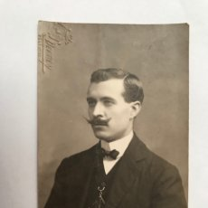 Fotografía antigua: LA VALENCIA QUE FUE FOTOGRAFÍA DERREY BURGUESÍA VALENCIANA, RETRATO DE EDUARDO (A.1909). Lote 289530648