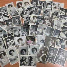 Fotografía antigua: LOTE DE MÁS DE 40 FOTOS ANTIGUAS TAMAÑO PEQUEÑO.. Lote 293365953