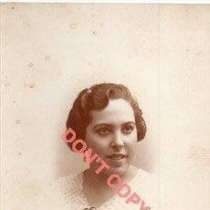 Fotografía antigua: ANTIGUA POSTAL FOTOGRAFICA DE UNA JOVEN, GRANADA, FOT.TORRES. Lote 295491328