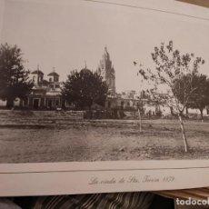 Fotografía antigua: LÁMINA MURCIA. LA RIADA DE SANTA TERESA. 1879 - (MURCIA) - LÁMINA 40 X 28 -. Lote 295635508