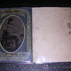 Fotografía antigua: FERROTIPO BAÑOS LA DELICIOSA, BARCELONA, RECUERDO DE 1893, . Lote 16596673