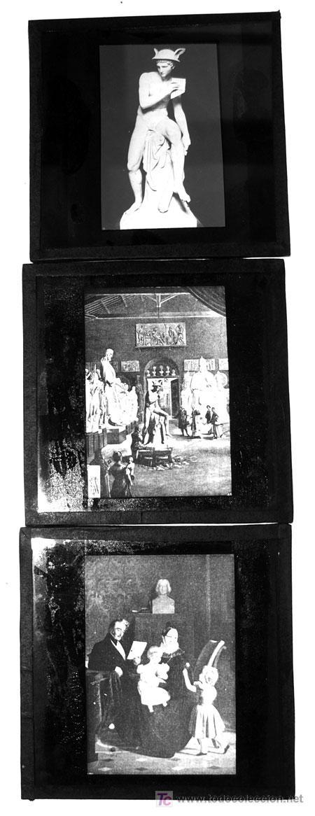 Fotografía antigua: DIEZ PLACAS DE CRISTAL POSITIVAS - Foto 2 - 11714997