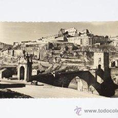 Photographie ancienne: TOLEDO PUENTE DE ALCANTARA Y ALCAZAR DESPUES DEL ASEDIO ----SON POSTALES----. Lote 15061413