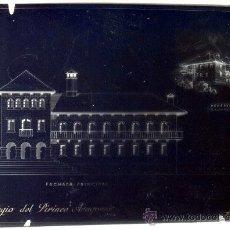 Fotografía antigua: NEGATIVO DE CRISTAL PROYECTO REFUGIO PIRINEO ARAGONES (FRANCISCO ZUERAS TORRENS) 10 X 15 CM AÑOS 40. Lote 26935365