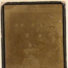 Fotografía antigua: FOTO DE FAMILIA HECHA EN CAMPROBON . Lote 26713949