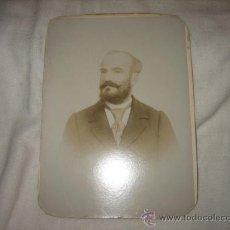 Fotografía antigua: FOTOGRAFO GUSTAVE & FRERE RUE DE LA MONNAIE BAYONNE. Lote 18983149