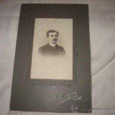 Fotografía antigua: FOTOGRAFO E.CAYEZ LILLE 1905. Lote 18996835