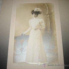 Fotografía antigua: FOTOGRAFO CALLIZA PAU. Lote 18996866
