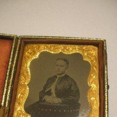 Fotografía antigua: RETRATO - AMBROTIPO - 1870-1880. Lote 24259721