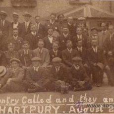 Fotografía antigua: ANTIGUA FOTOGRAFÍA DE LA I GUERRA MUNDIAL EN 1919 HARTPURY (REINO UNIDO) CON LEYENDA PINTADA A MANO. Lote 26678201