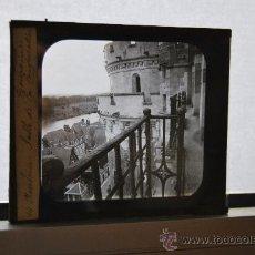 Fotografía antigua: ANTIGUA PLACA PARA LINTERNA MÁGICA - FOTOGRAFÍA EN CRISTAL - DIAPOSITIVA - FRANCIA. Lote 35228575