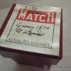 Fotografía antigua: LOTE DE 43 CLICHES NEGATIVOS PUBLICADOS POR PARIS MATCH EN 1954 SOBRE LA GUERRA DEL LIBANO DE 18. Lote 38373441