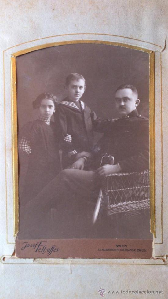 Fotografía antigua: Album de fotos victoriano o modernista - Con 21 fotos - Finales S. XIX - Foto 5 - 38545645