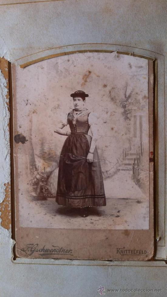 Fotografía antigua: Album de fotos victoriano o modernista - Con 21 fotos - Finales S. XIX - Foto 6 - 38545645