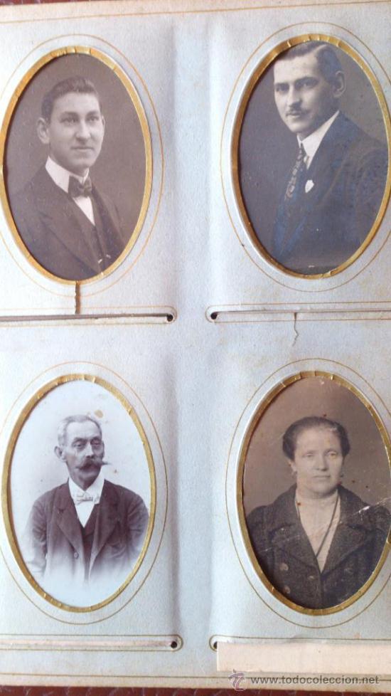 Fotografía antigua: Album de fotos victoriano o modernista - Con 21 fotos - Finales S. XIX - Foto 7 - 38545645