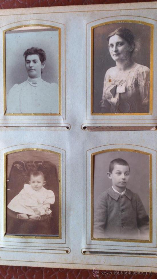 Fotografía antigua: Album de fotos victoriano o modernista - Con 21 fotos - Finales S. XIX - Foto 8 - 38545645