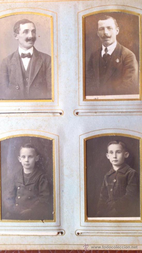 Fotografía antigua: Album de fotos victoriano o modernista - Con 21 fotos - Finales S. XIX - Foto 9 - 38545645