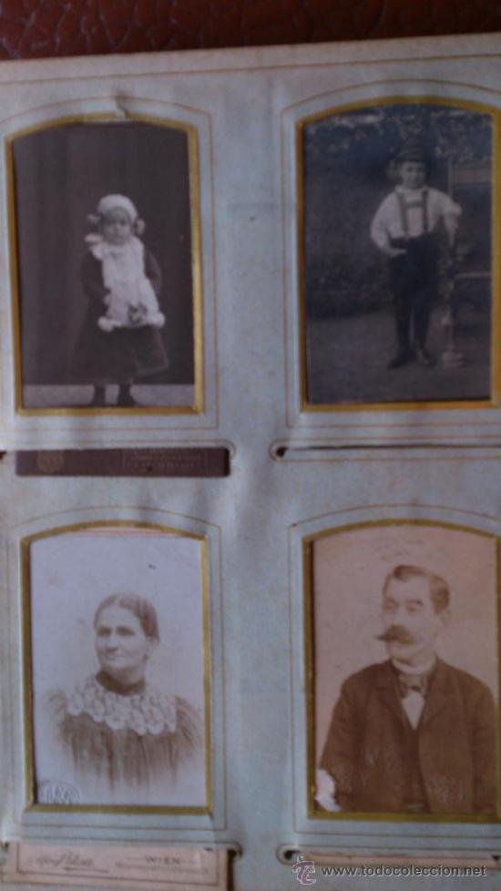 Fotografía antigua: Album de fotos victoriano o modernista - Con 21 fotos - Finales S. XIX - Foto 10 - 38545645