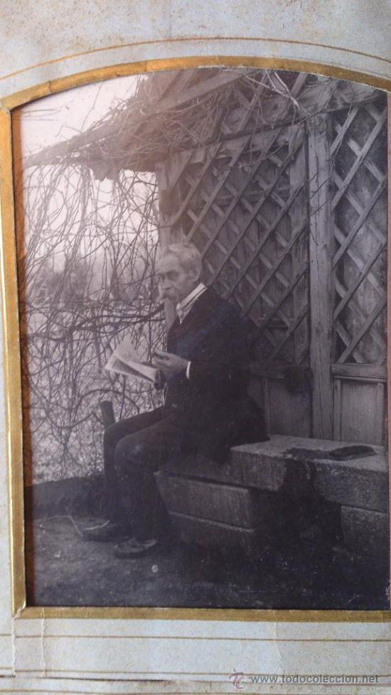 Fotografía antigua: Album de fotos victoriano o modernista - Con 21 fotos - Finales S. XIX - Foto 11 - 38545645