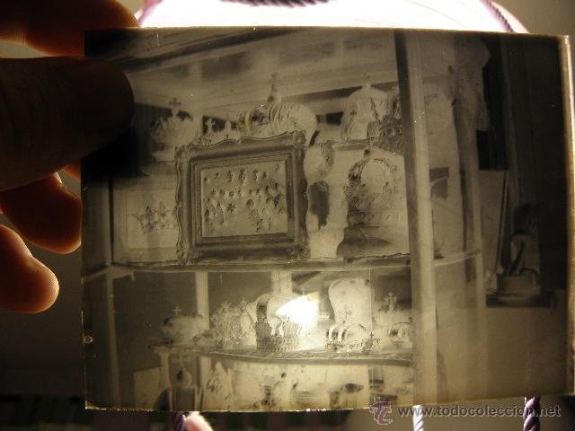 Fotografía antigua: Lote de negativos de fotografias en cristal - caja metalica y paquete original - Foto 2 - 39865793