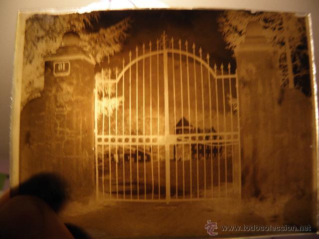 Fotografía antigua: Lote de negativos de fotografias en cristal - caja metalica y paquete original - Foto 4 - 39865793