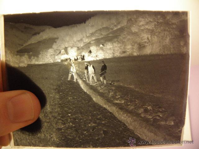 Fotografía antigua: Lote de negativos de fotografias en cristal - caja metalica y paquete original - Foto 6 - 39865793