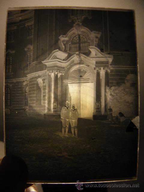 Fotografía antigua: Lote de negativos de fotografias en cristal - caja metalica y paquete original - Foto 8 - 39865793