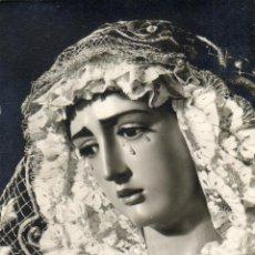 Fotografía antigua: FOTOGRAFIA ANTIGUA -SEMANA SANTA-VIRGEN DE LA HINIESTA-FOTOGRAFO FERNAND. Lote 40138573