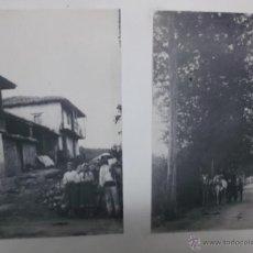Fotografía antigua: LOTE DE 4 FOTOGRAFIAS PLATINOTIPO O TECNICA SIMILAR. 12X17 CM PEGADAS SOBRE CARTULINA.. Lote 40641636