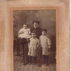 Alte Fotografie - FOTO 47 - GRUPO FAMILIAR ANTIGUA Y CURIOSA - FOTOGRAFO MONTILLA - CORDOBA - 40702992