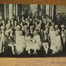 Fotografía antigua: FOTOGRAFIA DE ACTORES DE OPERA - PRINCIPIOS DE SIGLO XX. Lote 40754317