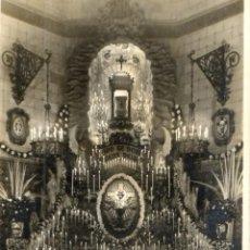 Fotografía antigua: FOTOGRAFIA ANTIGUA-ALTAR MONUMENTO DEL JUEVES SANTO. Lote 41054020