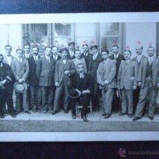 Fotografía antigua: IMPRESIONANTE Y BONITA ANTIGUA FOTOGRAFÍA - A IDENTIFICAR -. Lote 41085509