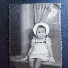 Fotografía antigua: ANTIGUA Y BONITA FOTOGRAFIA - SELLO EN SECO ESTUDIO RICART -. Lote 41096503