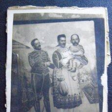 Fotografía antigua: CURIOSA, DIVERTIDA Y MUY ANTIGUA FOTOGRAFÍA DE FERIA - 9 X 7 CM. Lote 41096783