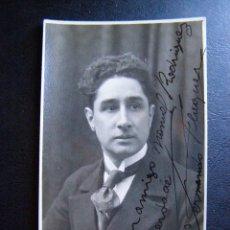 Fotografía antigua: ANTIGUO AUTÓGRAFO DE ANTIGUO PRODUCTOR TEATRAL CATALAN - FERNANDO FLAQUER - 1923 -. Lote 41121612
