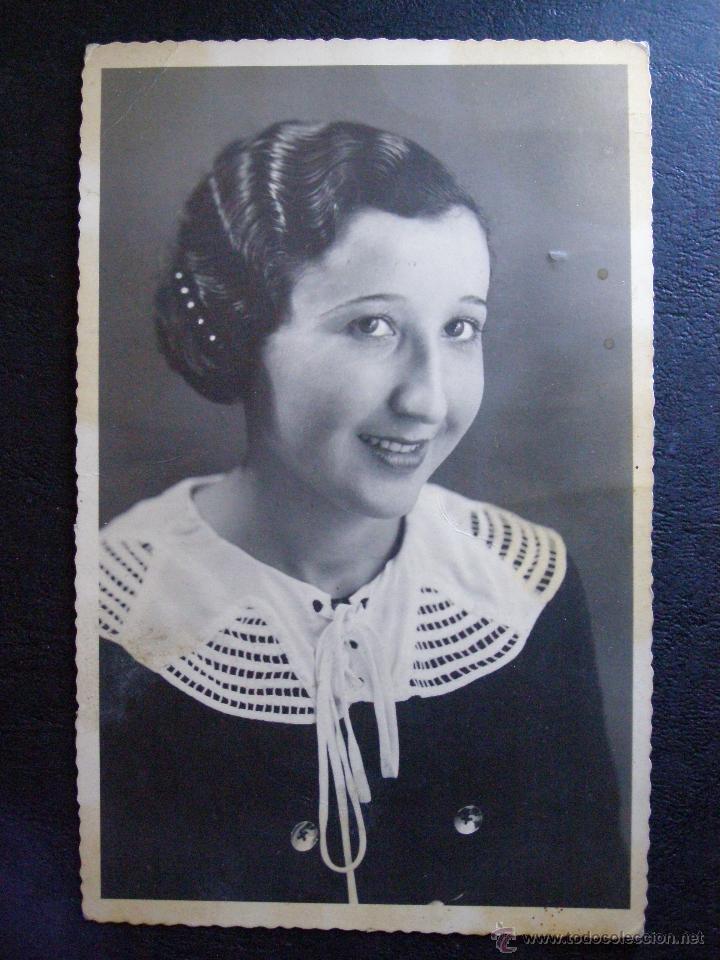 ANTIGUA FOTOGRAFÍA - LUISA - TANGER - MAYO 1935 - (Fotografía Antigua - Ambrotipos, Daguerrotipos y Ferrotipos)