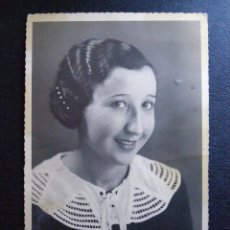 Fotografía antigua: ANTIGUA FOTOGRAFÍA - LUISA - TANGER - MAYO 1935 -. Lote 41122987