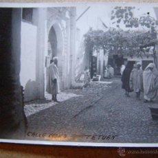 Alte Fotografie - Antigua fotografia - Calle Mora - Tetuan - - 41156501