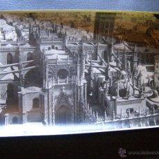 Fotografía antigua: ANTIGUA FOTOGRAFIA AEREA - SEVILLA - DETALLE DE LA GIRALDA - AÑOS 20 - 11 X 17 CM .. Lote 41693554