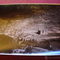 Fotografía antigua: ANTIGUA FOTOGRAFIA AEREA - CASTILLO DE SANTILLANA - MANZANARES - SIERRA GUADARRAMA AÑOS 20 -11X17 CM. Lote 41719492