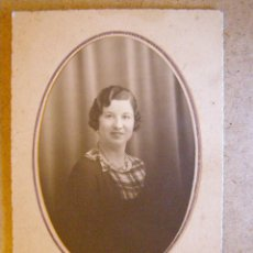 Fotografía antigua: ANTIGUA FOTOGRAFIA - DOLORES - TANGER - 08-05-1934 - FOTO BLANCO -. Lote 41726392