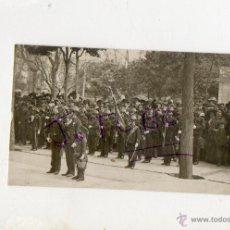 Fotografía antigua: ANTIGUA FOTOGRAFIA DE NIÑOS MILITARES EPOCA ALFONSO XIII. Lote 42779236