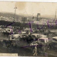 Fotografía antigua: FOTOGRAFIA ANTIGUA DEL BARCO EL REY -JAIME I. Lote 42780028
