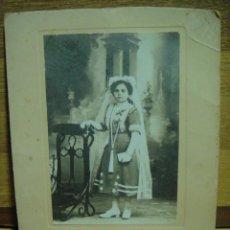 Fotografía antigua: FOTOGRAFIA DE 1ª COMUNION - FOTO PALAU - VALENCIA. Lote 43240999