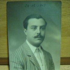 Fotografía antigua: FOTO DE ESTUDIO - FOTO BUSQUETS - BARCELONA - AÑO 1909. Lote 43739701