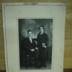 Fotografía antigua: MATRIMONIO - FOTO ISMAEL - POZOBLANCO. Lote 44326253