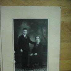 Fotografía antigua: MATRIMONIO - FOTO ISMAEL - POZOBLANCO. Lote 44326264
