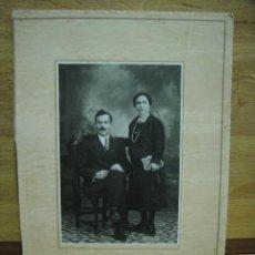 Fotografía antigua: MATRIMONIO - FOTO ISMAEL - POZOBLANCO. Lote 44326317