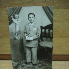 Fotografía antigua: FOTO DE 1ª COMUNION. Lote 44357203